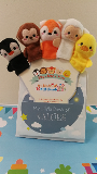 My Little Book of Values and Animal Finger Puppets
